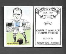 Oldham Athletic Charlie Wallace 30 (FC)